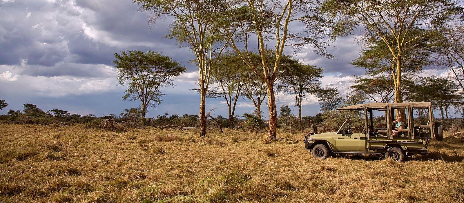 Hotel Namiri Plains Tented Camp Tanzania