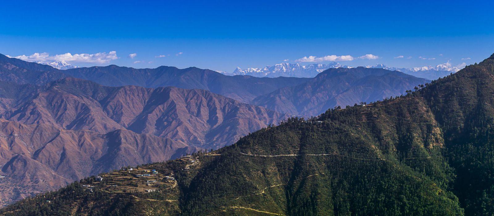 Reiseziel Mussoorie Himalaja