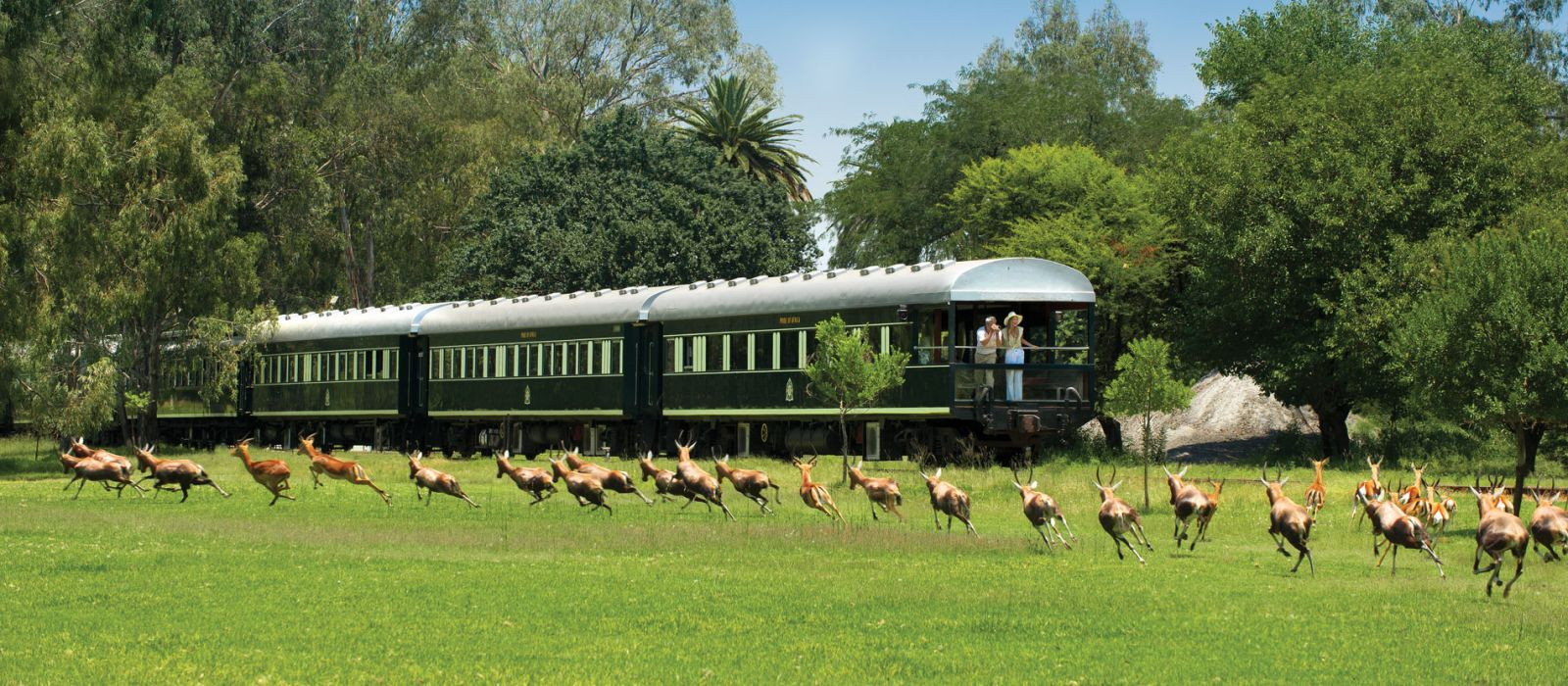 Hotel Rovos Rail: Pretoria – Victoriafälle Südafrika