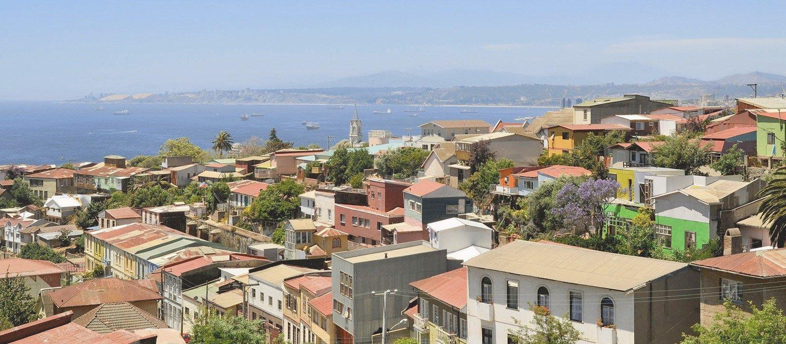 Destination Valparaíso Chile