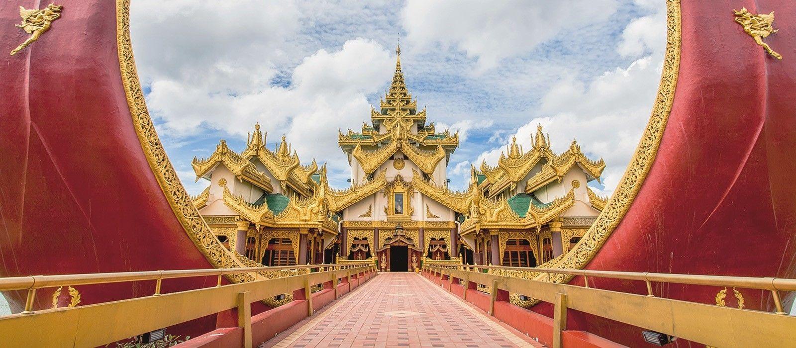 Reiseziel Yangon Myanmar