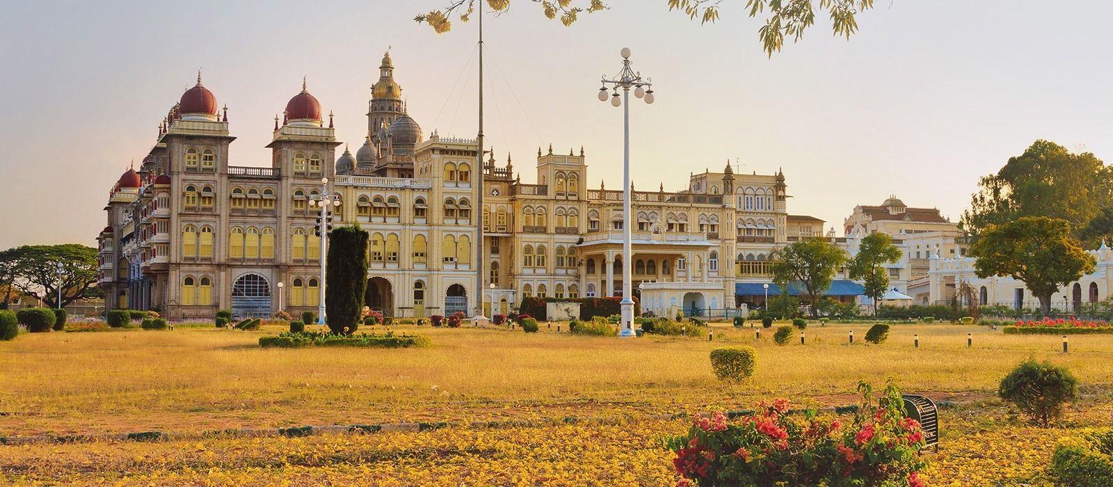 Reiseziel Mysore Südindien