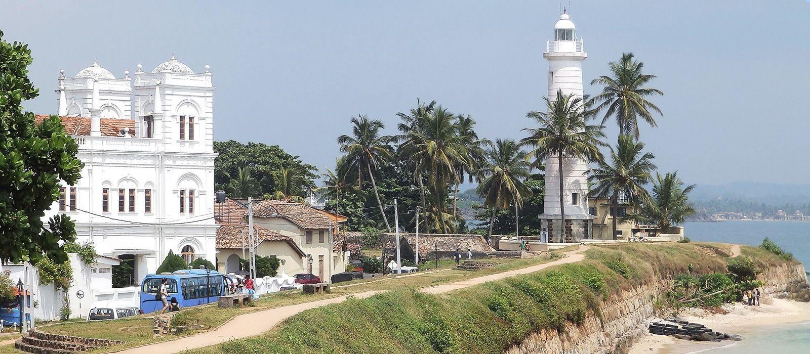 Reiseziel Galle Fort Sri Lanka