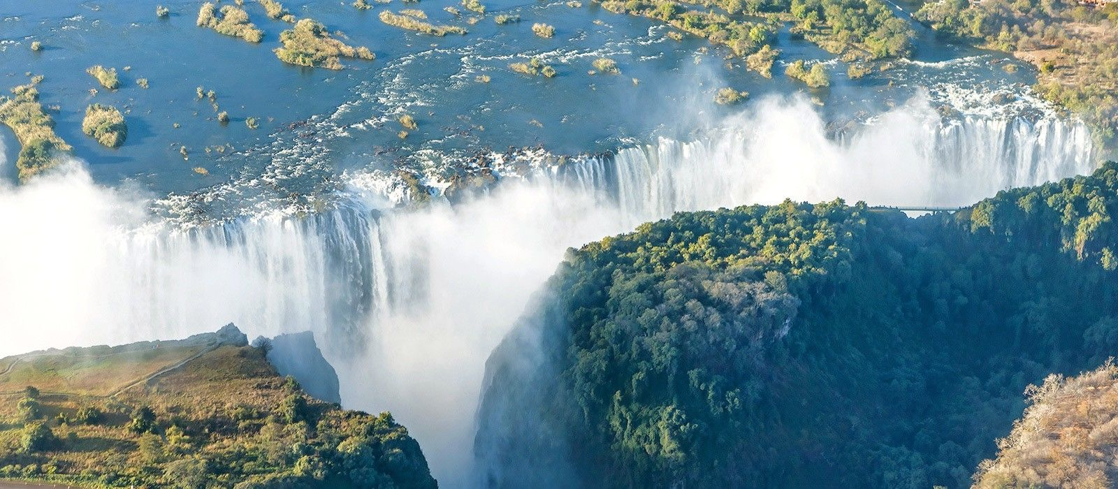 Reiseziel Viktoriafälle Simbabwe