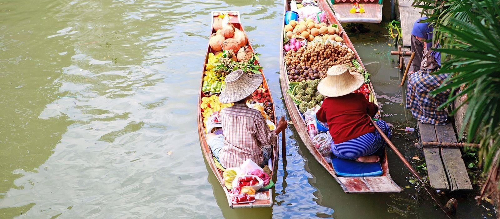 Staunen, shoppen und sonnen in Thailand Urlaub 4