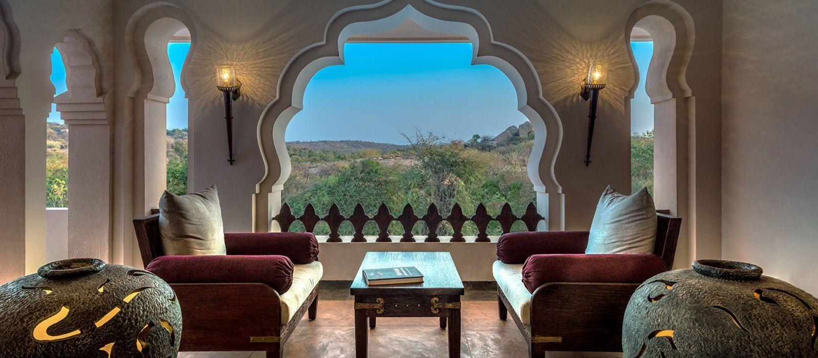 Hotel Evolve Back Kamalapura Palace, Hampi Südindien