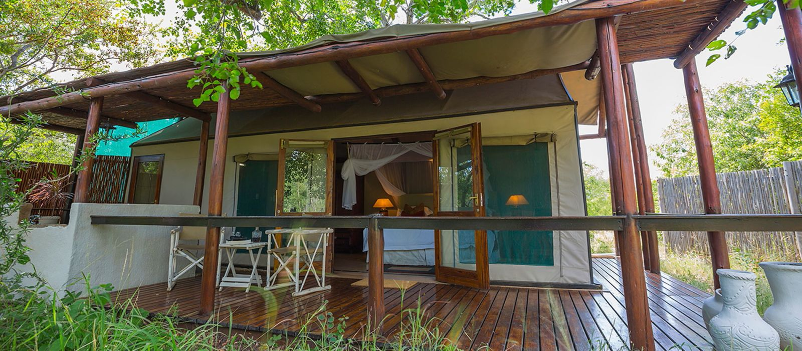 Hotel Thornybush Chapungu Luxury Tented Camp Südafrika