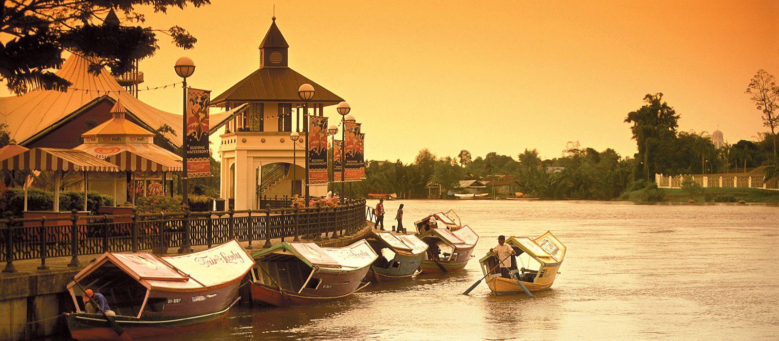 Reiseziel Kuching Malaysia