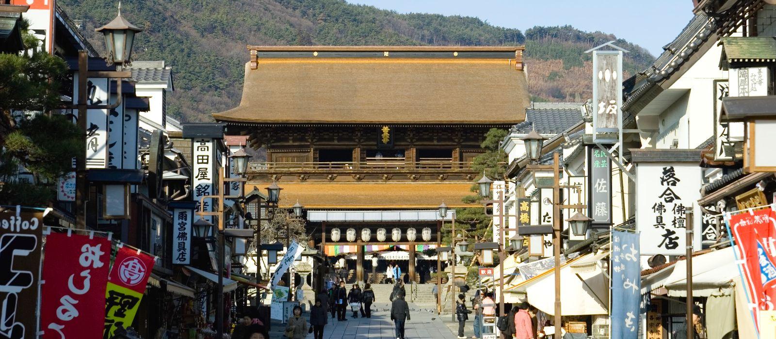 Reiseziel Nagano Japan