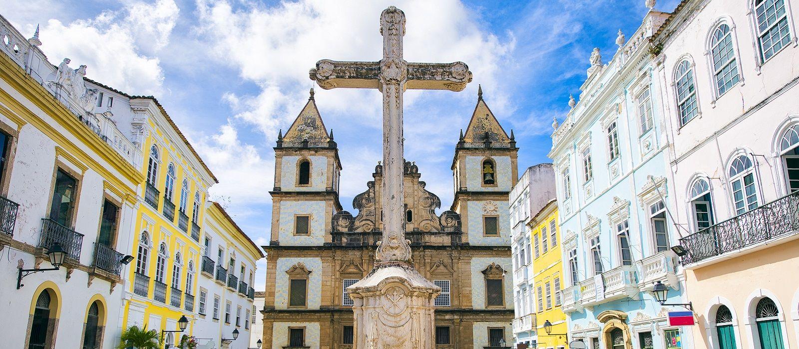 Destination Salvador da Bahia Brazil