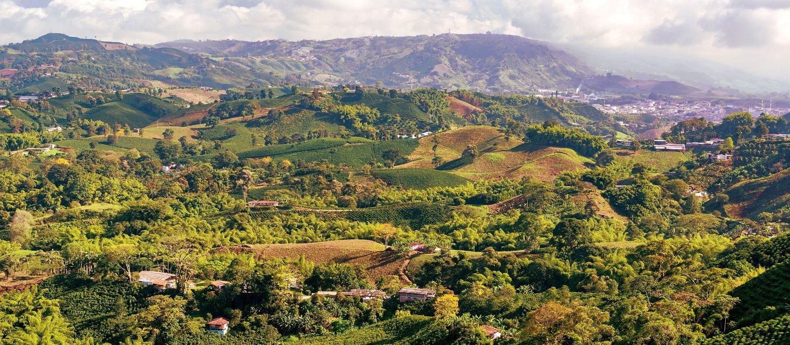 Reiseziel Kaffeeregion Kolumbien