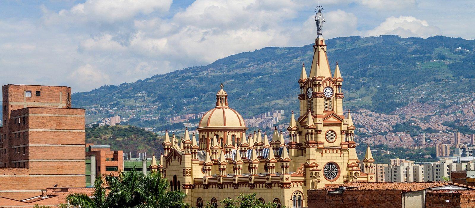 Reiseziel Medellín Kolumbien