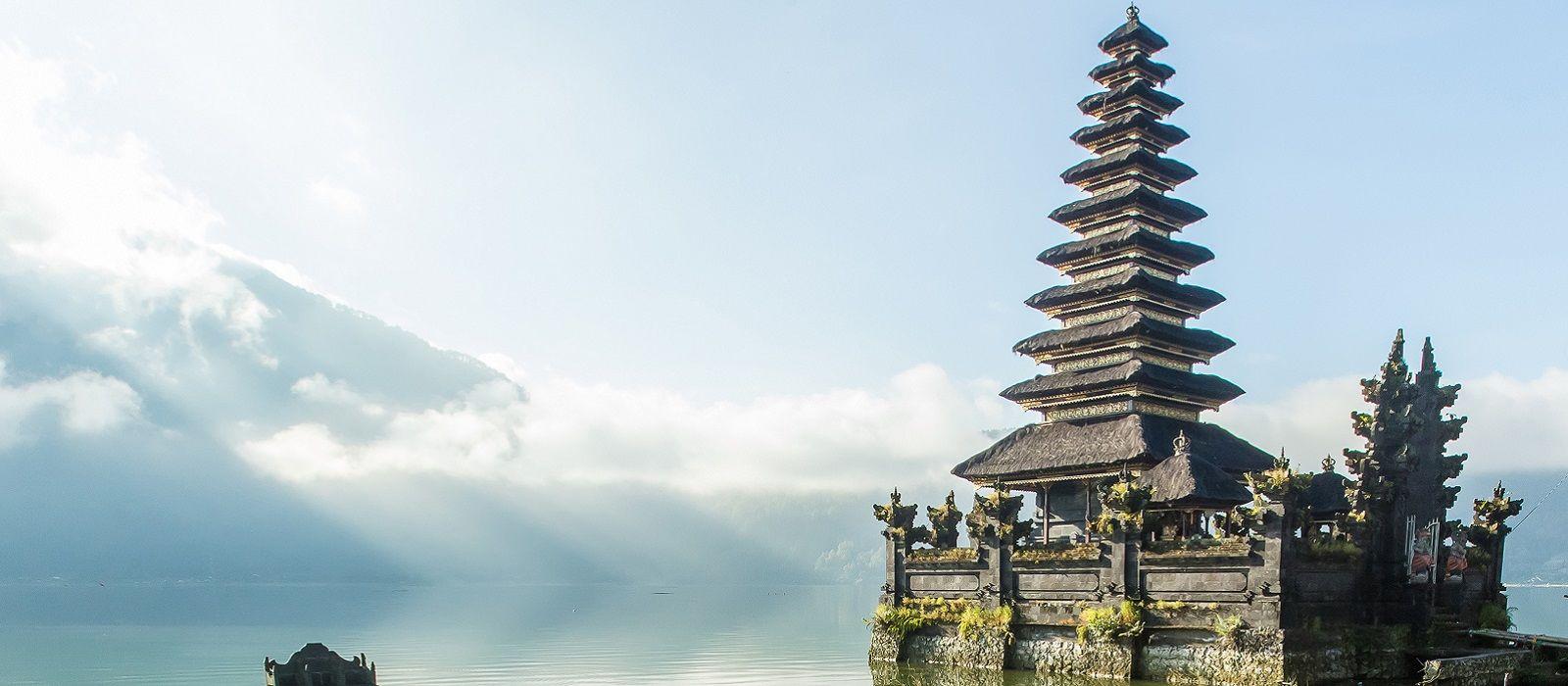 Reiseziel Batur See Indonesien
