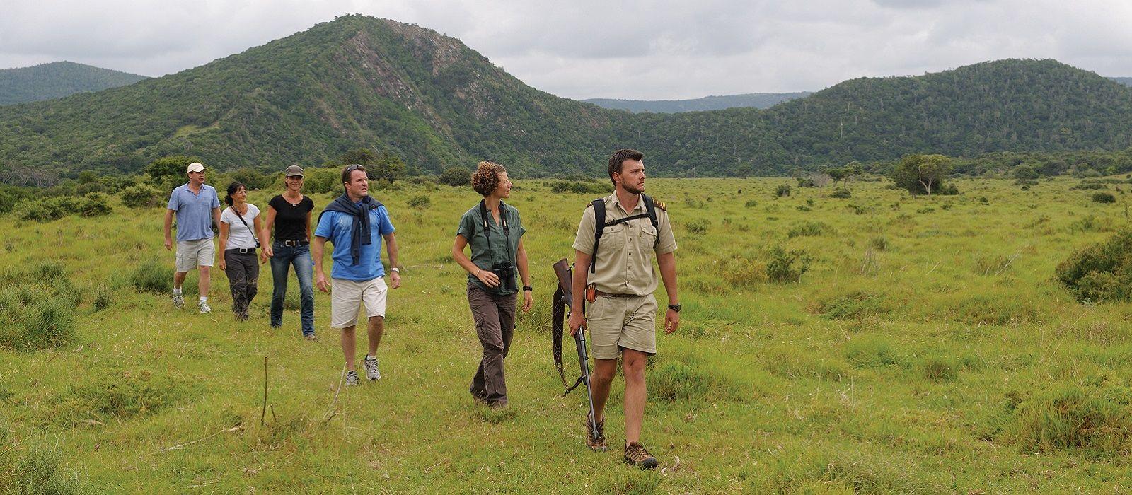 Reiseziel Östliche Wild Coast – Wanderrouten Südafrika