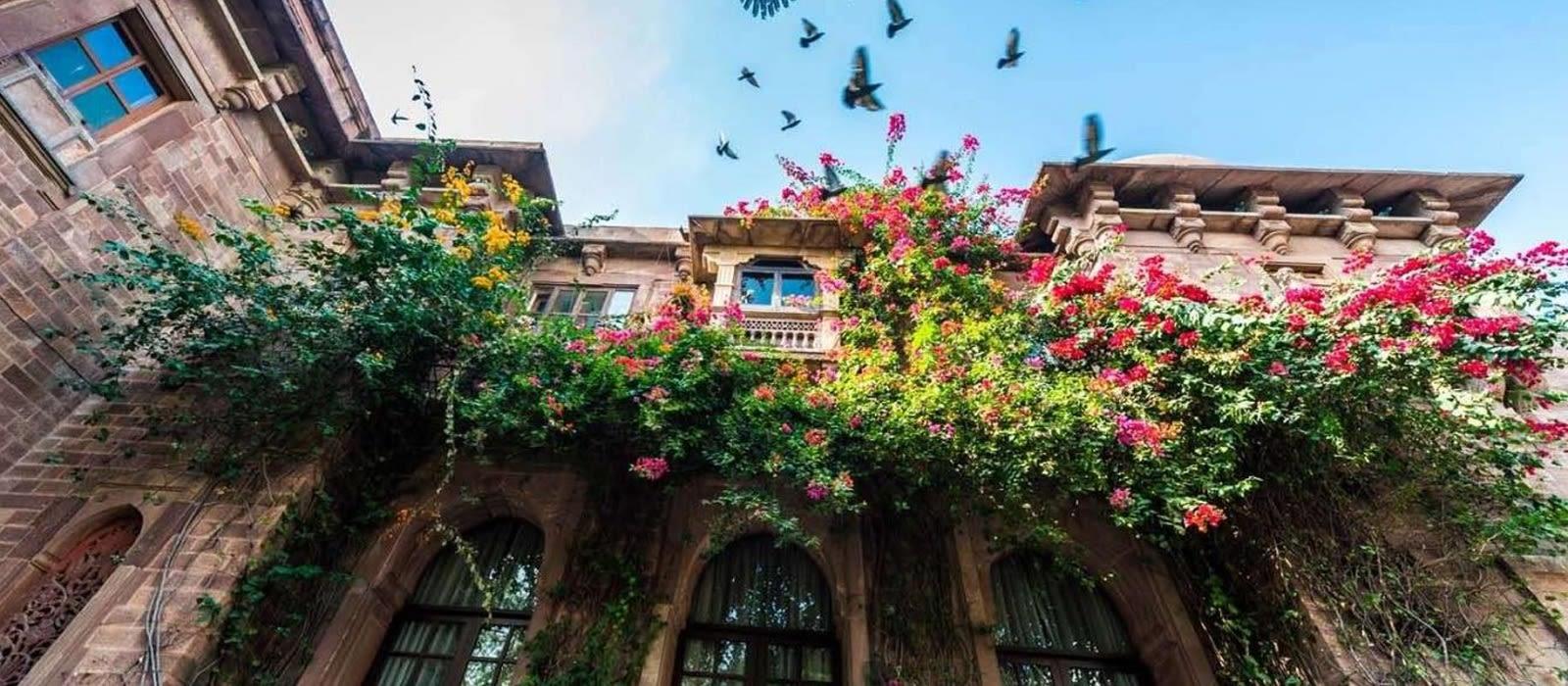 Hotel Ranbanka Palace North India
