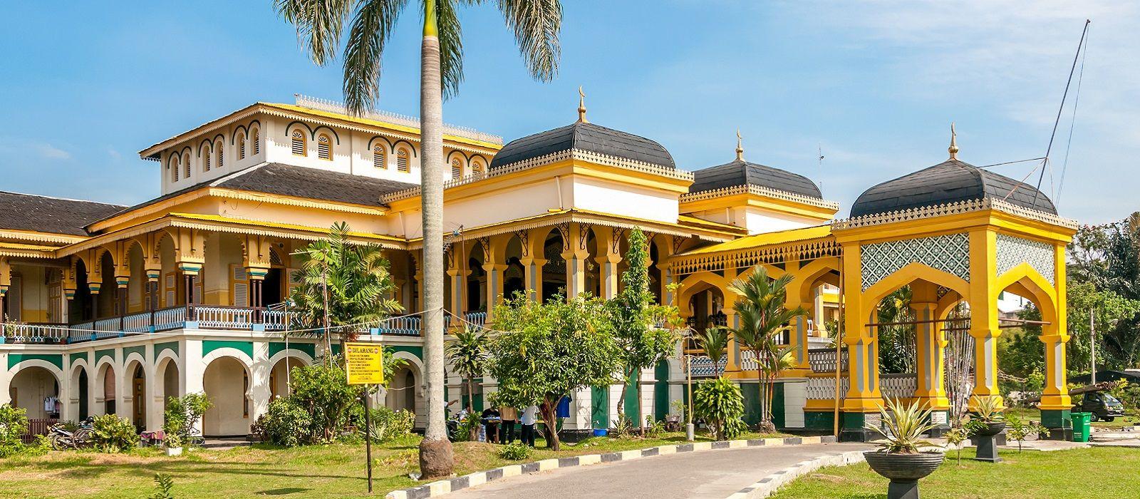 Reiseziel Medan Indonesien