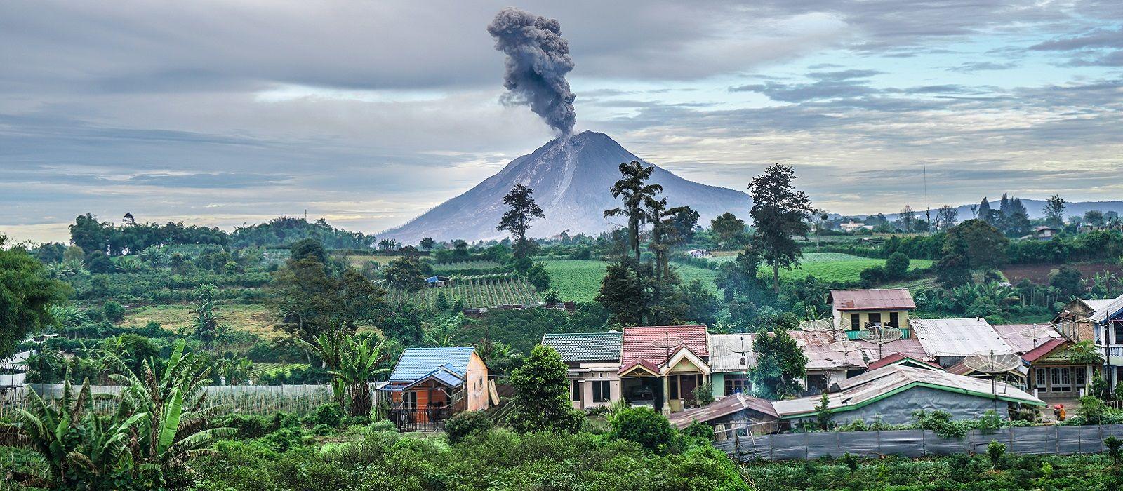 Reiseziel Berastagi Indonesien
