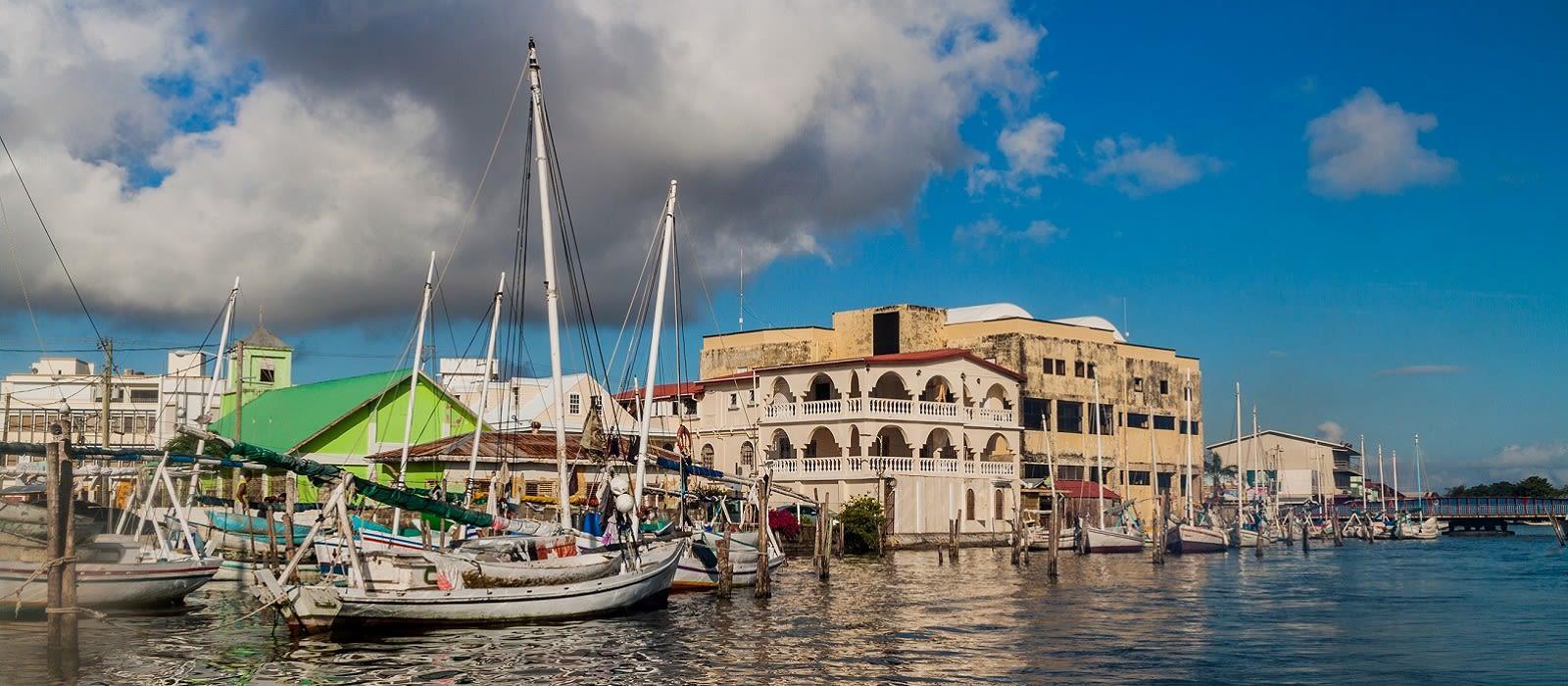Destination Belize City Belize