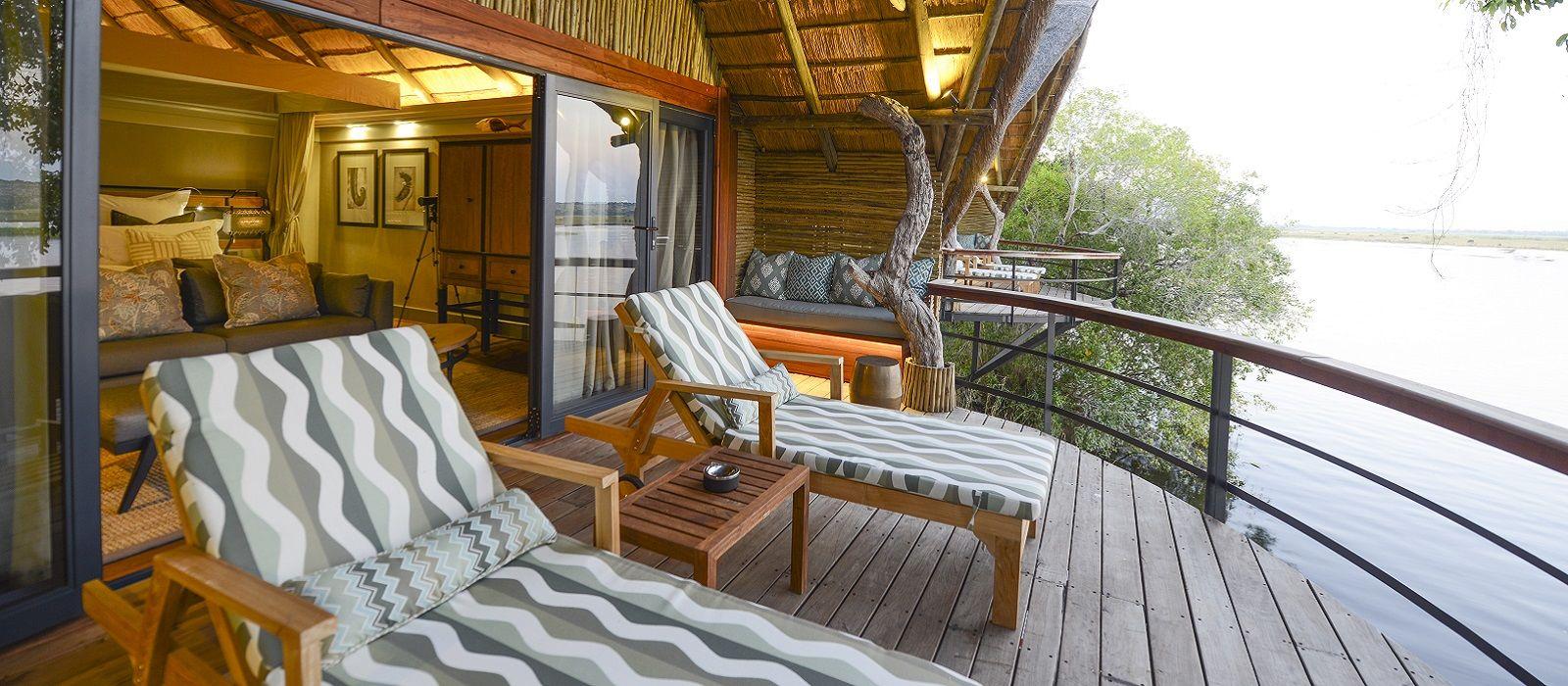 Hotel Chobe Water Villas Botswana