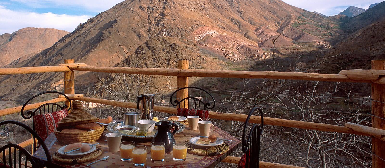 Hotel Kasbah du Toubkal Marokko