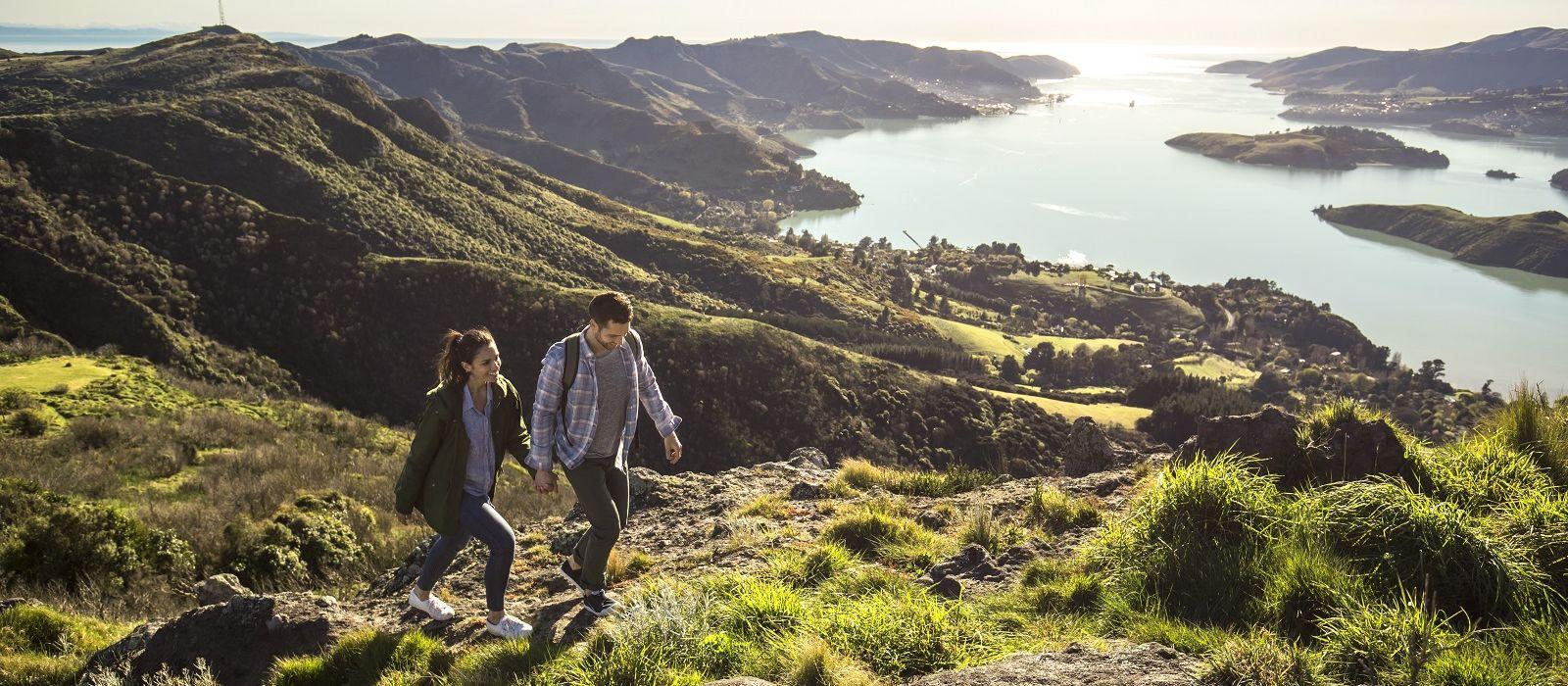 Auf dem Weinwanderweg durch Neuseeland Urlaub 3