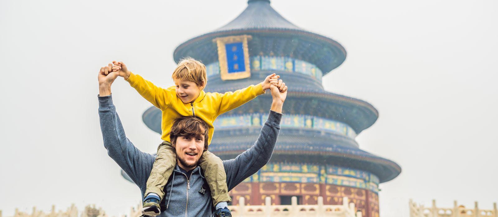 China für Familien: Weltkulturerbestädte, Natur & Strand Urlaub 2