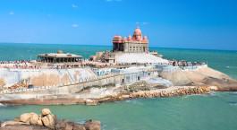 Reiseziel Kanyakumari Südindien