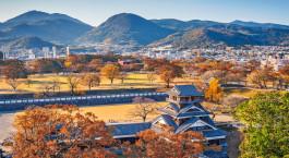 Reiseziel Kumamoto Japan
