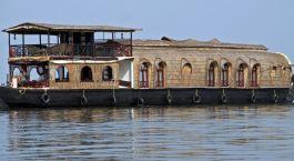 Reiseziel Kumarakom Hausboot Südindien