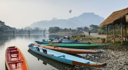 Huay Xai / Mekong Thaïlande