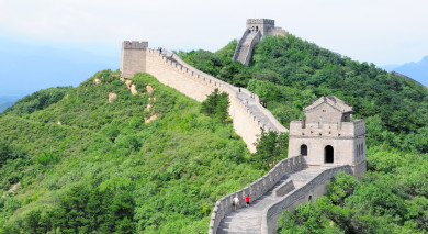 Example private tour: Classic China