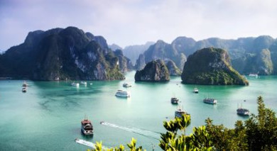 Example private tour: Vietnam: Islands and Waterways