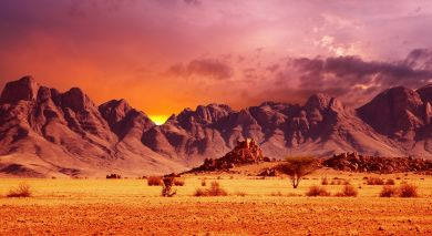 Example private tour: Cape Town and Highlights of Namibia