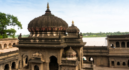 Destination Maheshwar in North India
