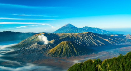 Mount Bromo in Indonesien