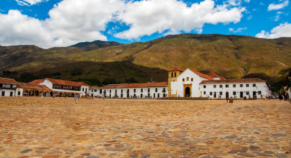 Villa de Leyva in Kolumbien