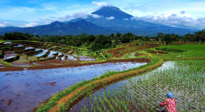 Magelang in Indonesien