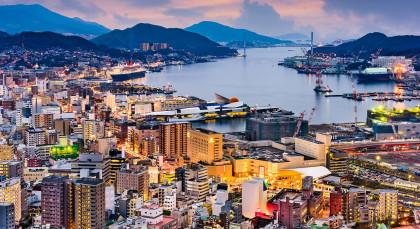 Nagasaki in Japan