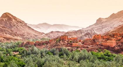 Hoher Atlas in Marokko