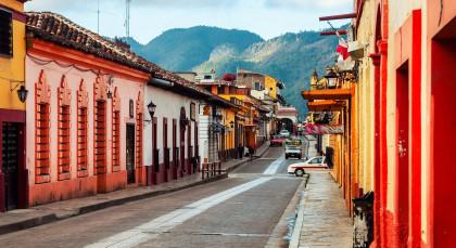 San Cristobal de las Casas in Mexiko