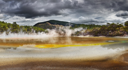Destination Rotorua in New Zealand