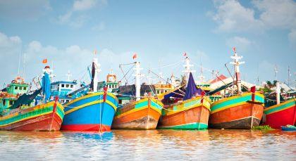 My Tho / Mekong Delta in Vietnam