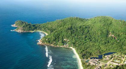 La Digue Island in Seychellen