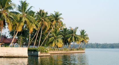 Kumarakom in Südindien