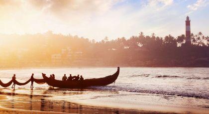 Trivandrum in Südindien
