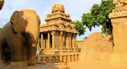 Mamallapuram in Südindien