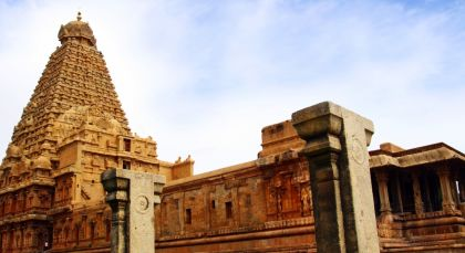 Thanjavur in Südindien