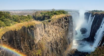 Destination Victoria Falls Zambia in Zambia