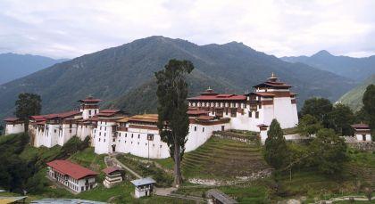 Destination Trongsa in Bhutan