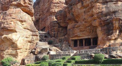 Reiseziel Badami in Südindien